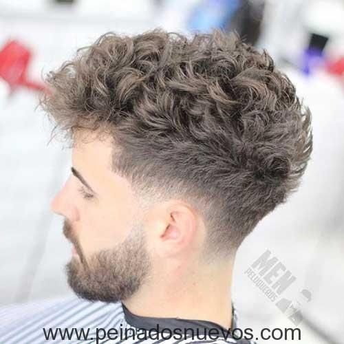 15los Hombres Con El Pelo Rizado Depelox Pinterest - Cortes-de-pelo-rizado-hombre