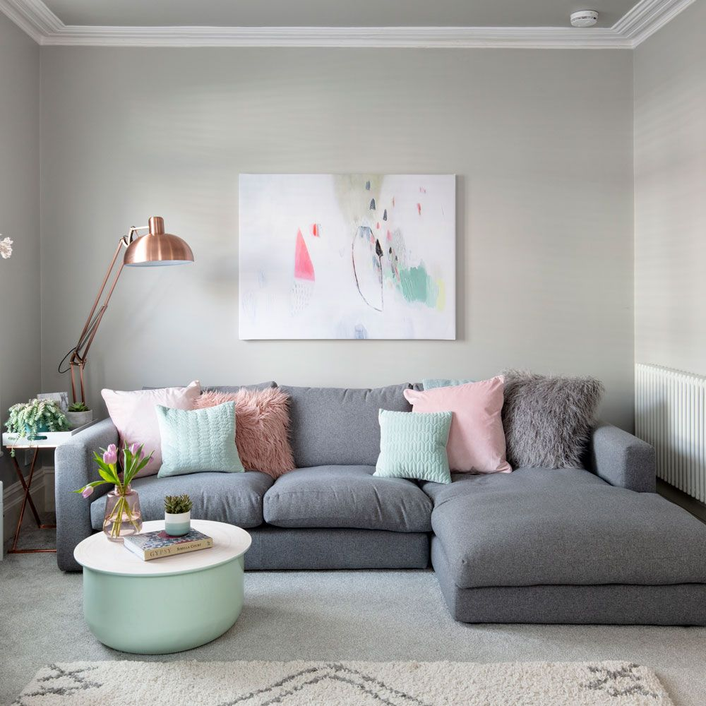 20 grey living room ideas for gorgeous and elegant spaces   Grey ...