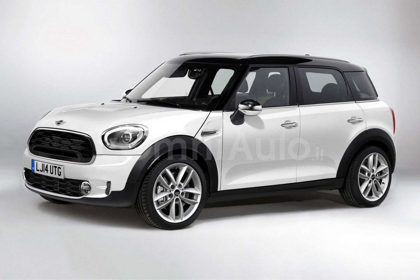 New rendering of the new 2017 mini countryman which will be launched later this year