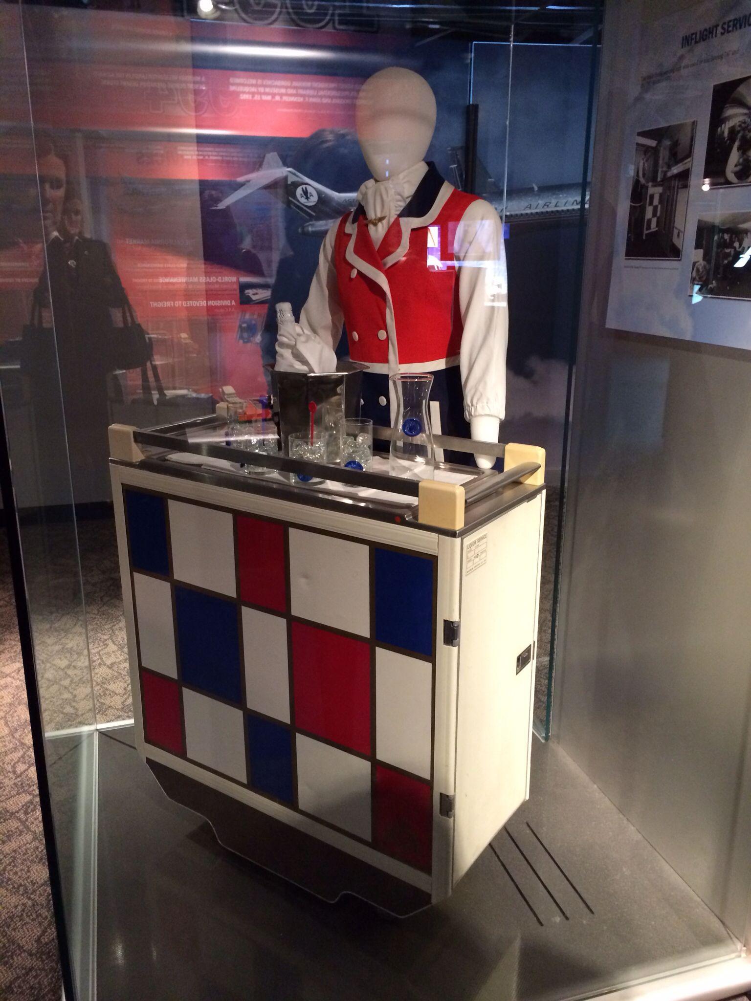 Vintage beverage cart   Flight Attendants and Planes ...