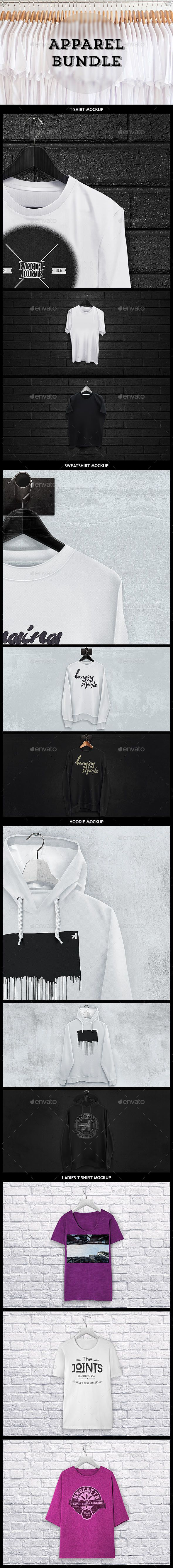 Download Apparel Mockup Bundle T Shirt Sweat Hoodie Clothing Mockup Sweat Hoodie Hoodie Mockup