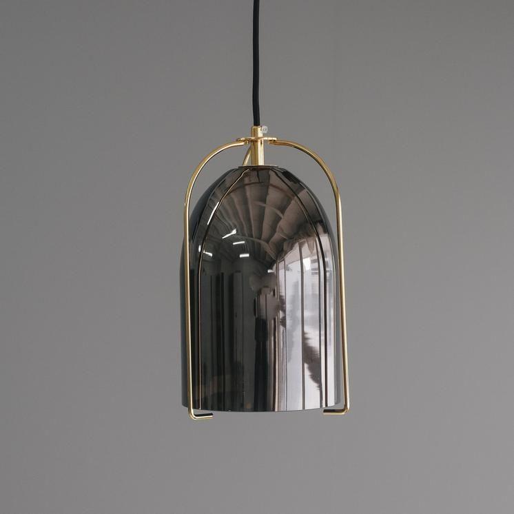 Black Glass Bell Pendant Light Worthynzhomeware Wwworthy Co Nz