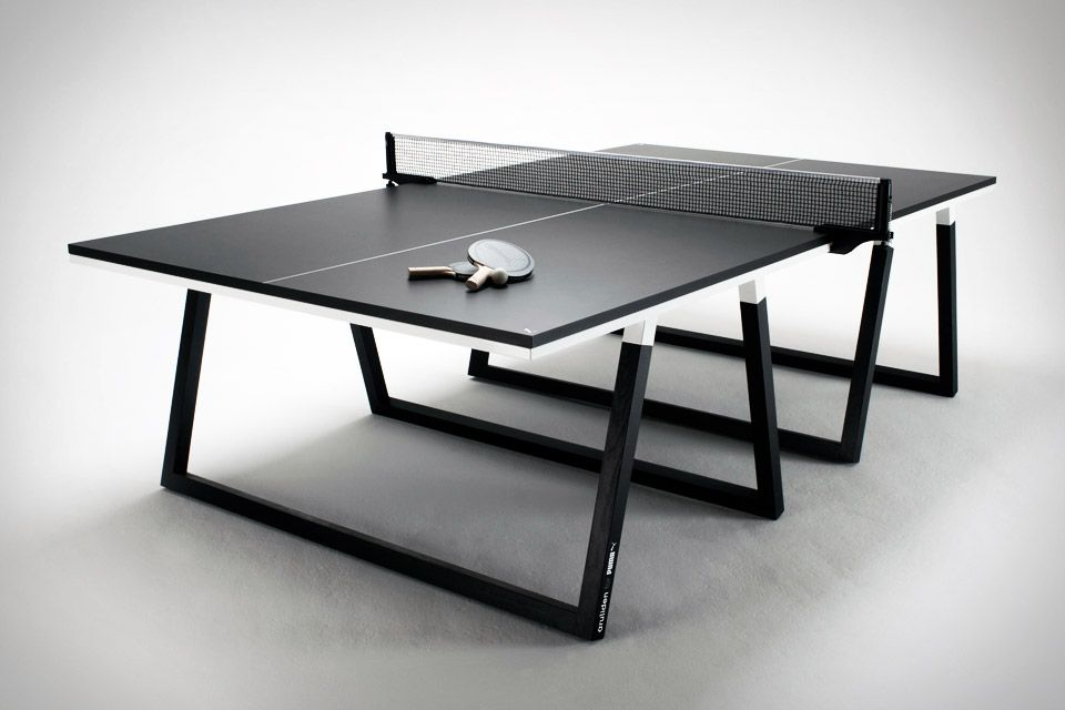 a segunda mesa de ping pong mais bonita do mundo obs a. Black Bedroom Furniture Sets. Home Design Ideas