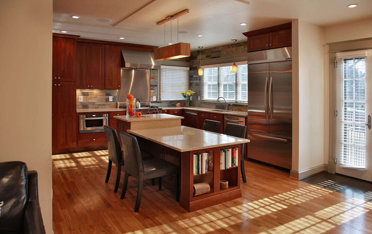 De space designs house dc the kitchen the heart of the home