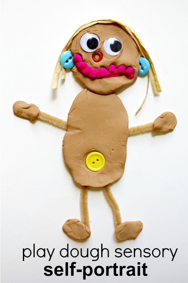 All About Me Sensory Self-Portrait - Fantastic Fun & Learning