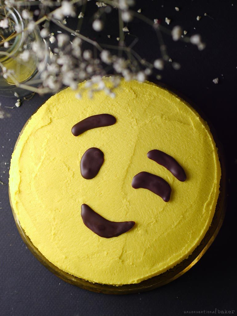 Easy Diy Emoji Cake Can Be Made Free From Dairy Gluten