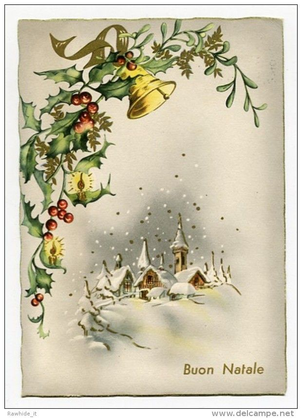 Noel Weihnachten Christmas Cloche Paysage - Christmas
