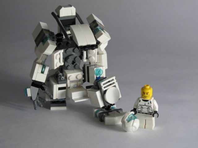 New LEGO Mech Hard-Suit Complete Custom Kit with