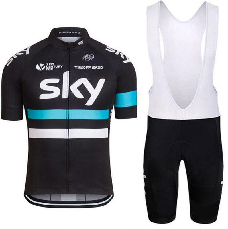 bd477d88c 2016 Team Sky Cycling Jerseys Bike Maillot Ciclismo Bycicle Clothing Quick  Dry Men Summer clothes wear