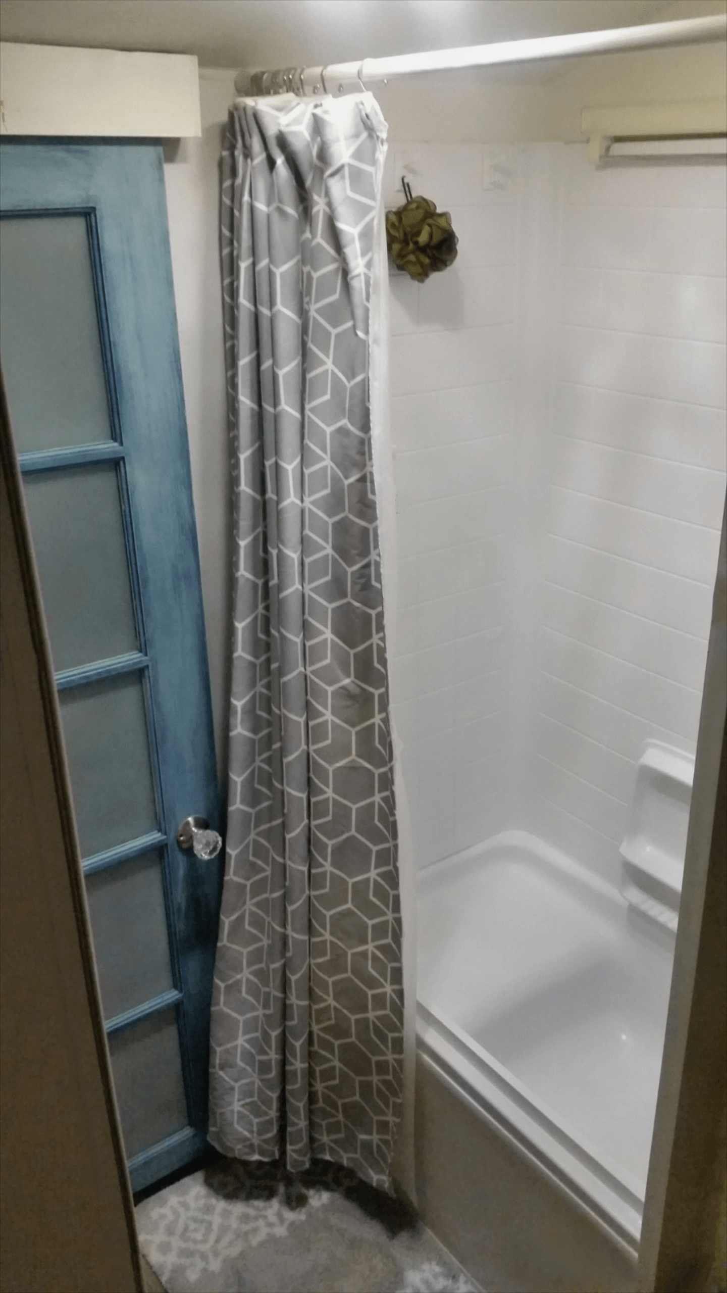 Web Image Gallery RV Bathroom Remodel The Shower Nurse Barb Blog Before and after pictures products