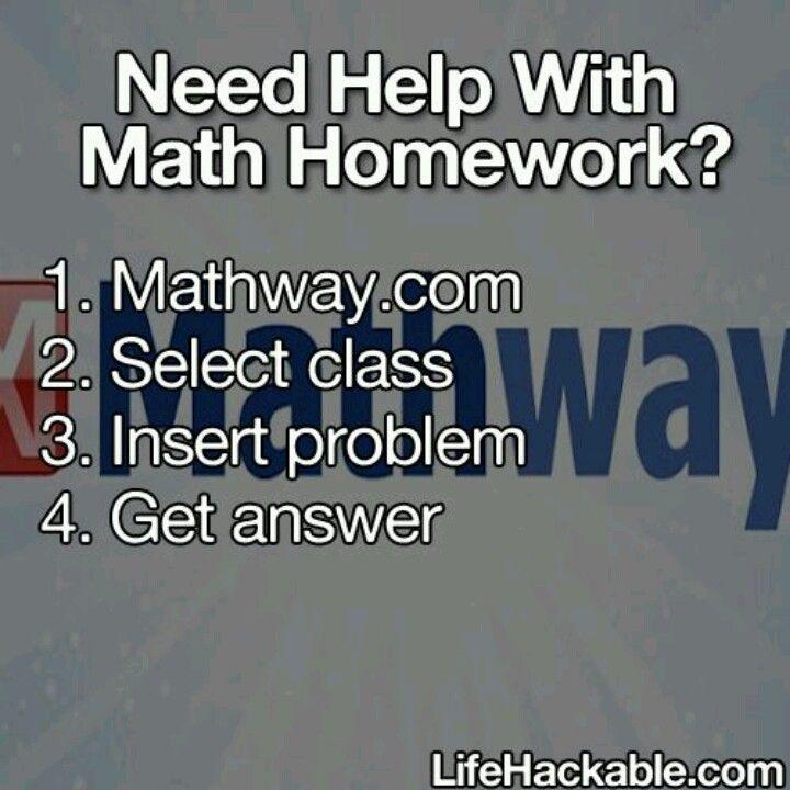 Mathway.com | Life s for school, School s, Life s on