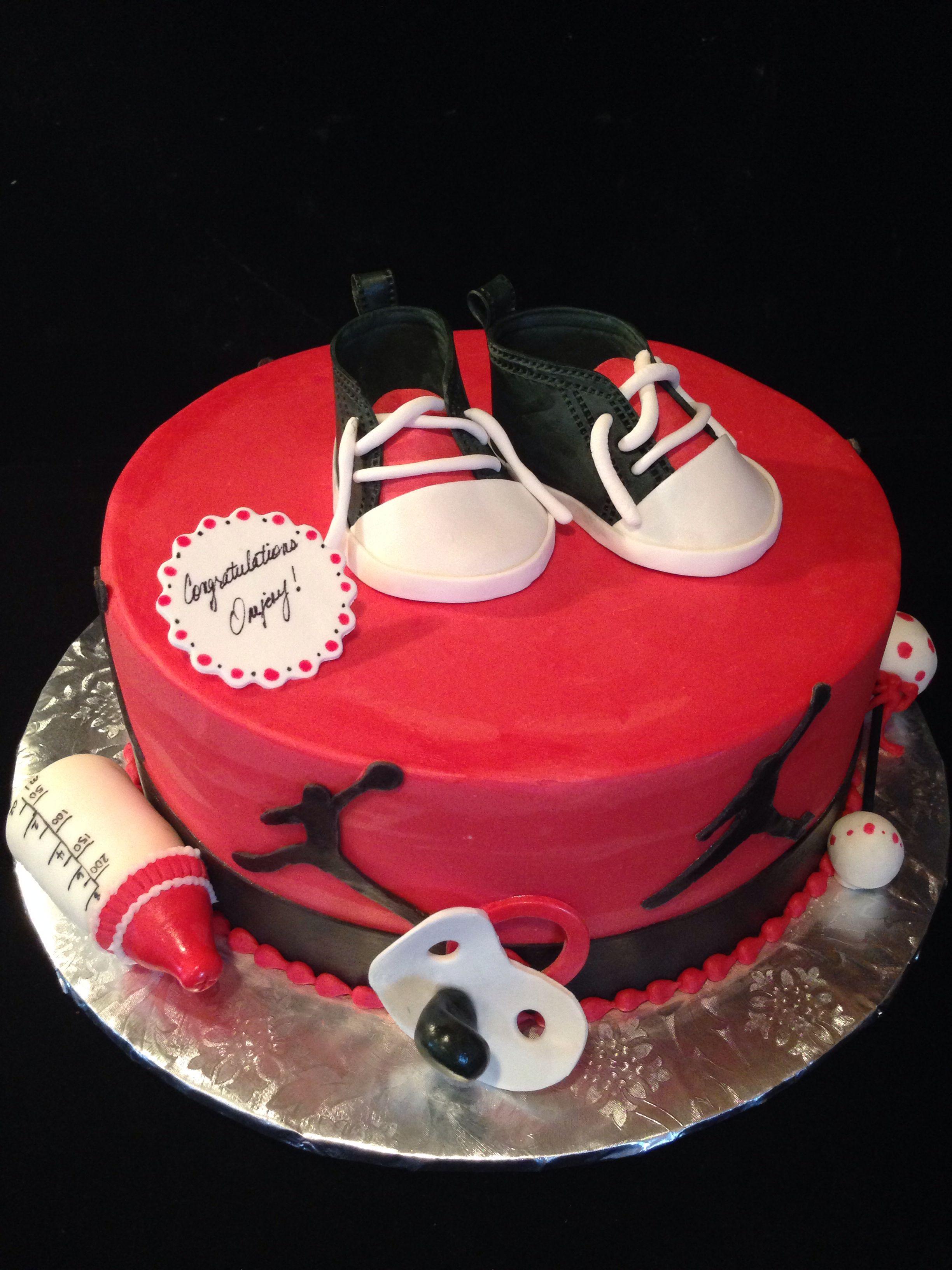 Michael Jordan Baby Shower Cakes Pinterest Jordan Baby Shower