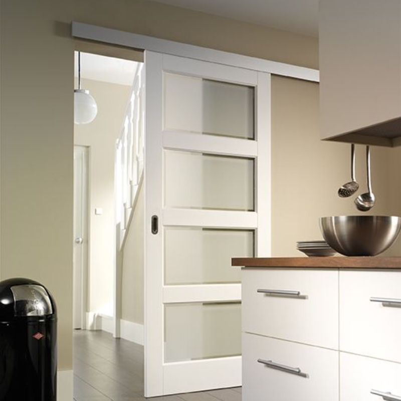 Sliding door for the wall    Inspiration  Ironw@re