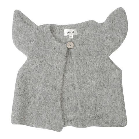Oeuf Boucle Mae Vest Grey – Advice from a Caterpillar