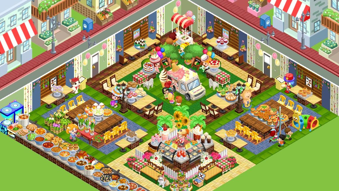 Gatherings) my shop in restaurant story game-iPhone | Game ...