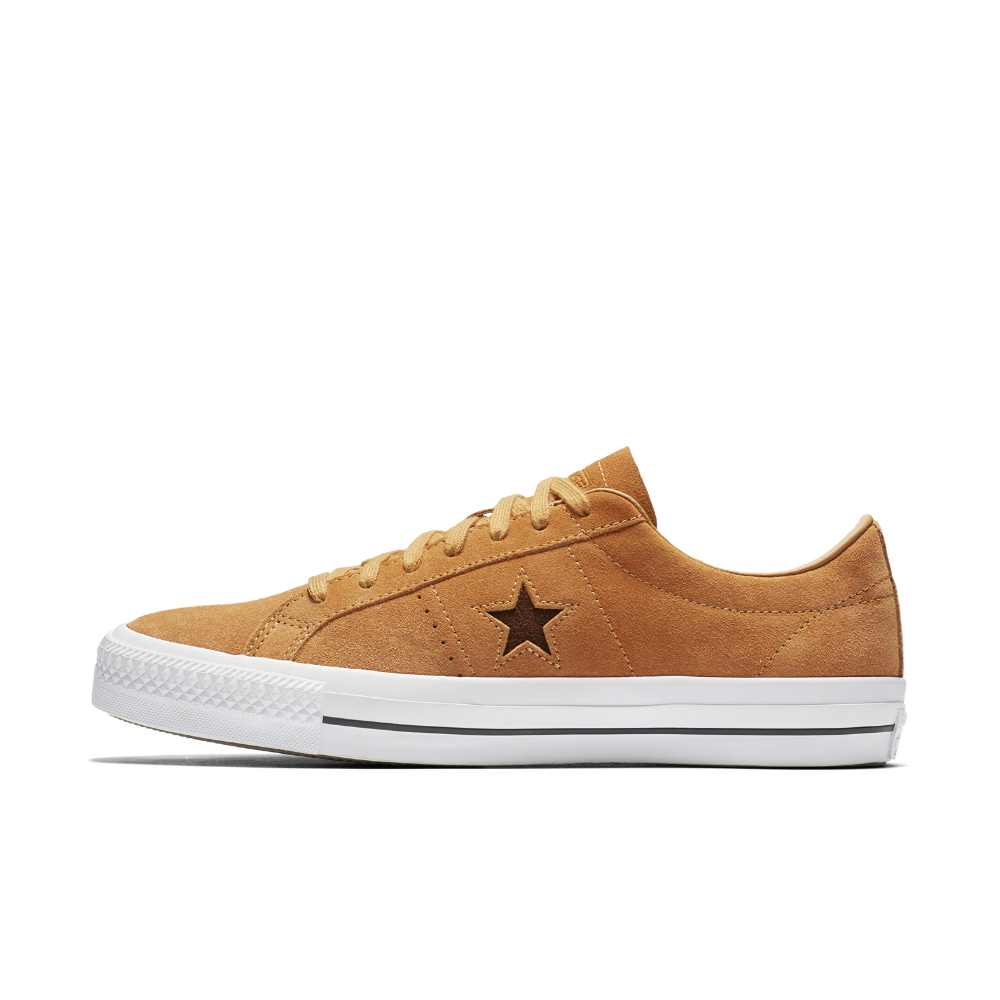 075380e308d8 Converse One Star Pro Oiled Suede Low Top Men s Skateboarding Shoe Size