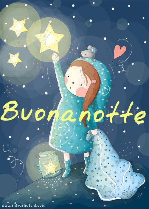 Stella mia buona notte italia pinterest for Buonanotte cartoni