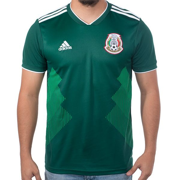 2c44786f803 Sport the new 2018 adidas World Cup Mexico Home Jersey!