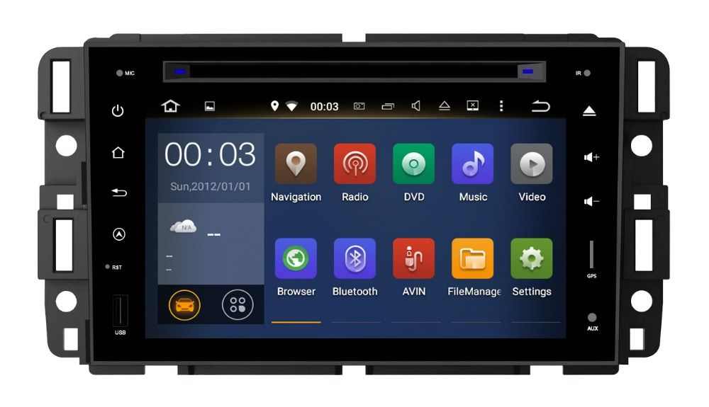 1024x600 Android 5 1 1 Car Dvd Player For Gmc Chevrolet Chevy