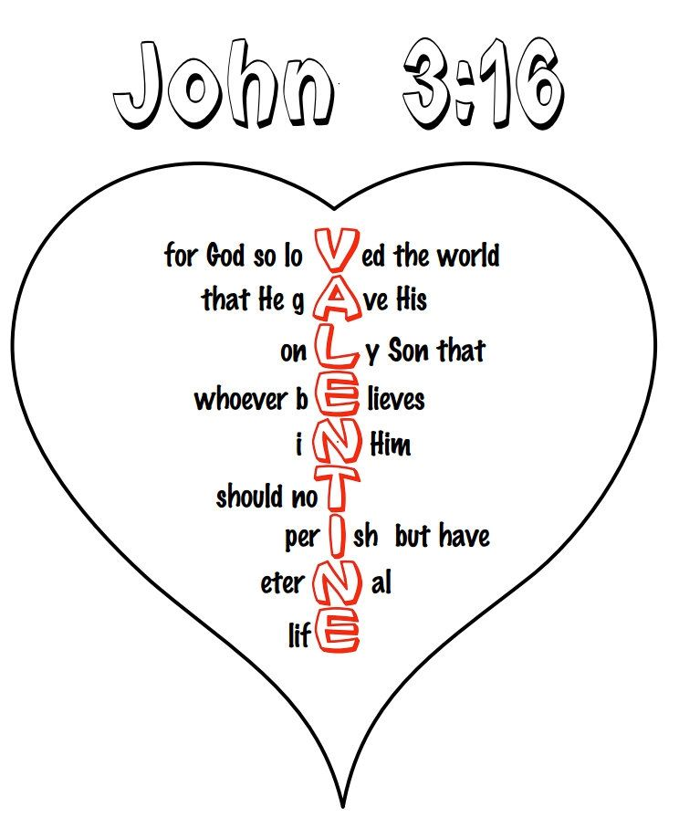38++ Childrens christian valentine coloring pages ideas