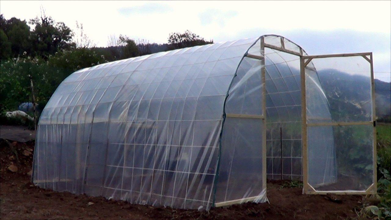 Como hacer un invernadero casero paso a paso la estructura es el primer elemento que pondremos - Fabricar un invernadero ...