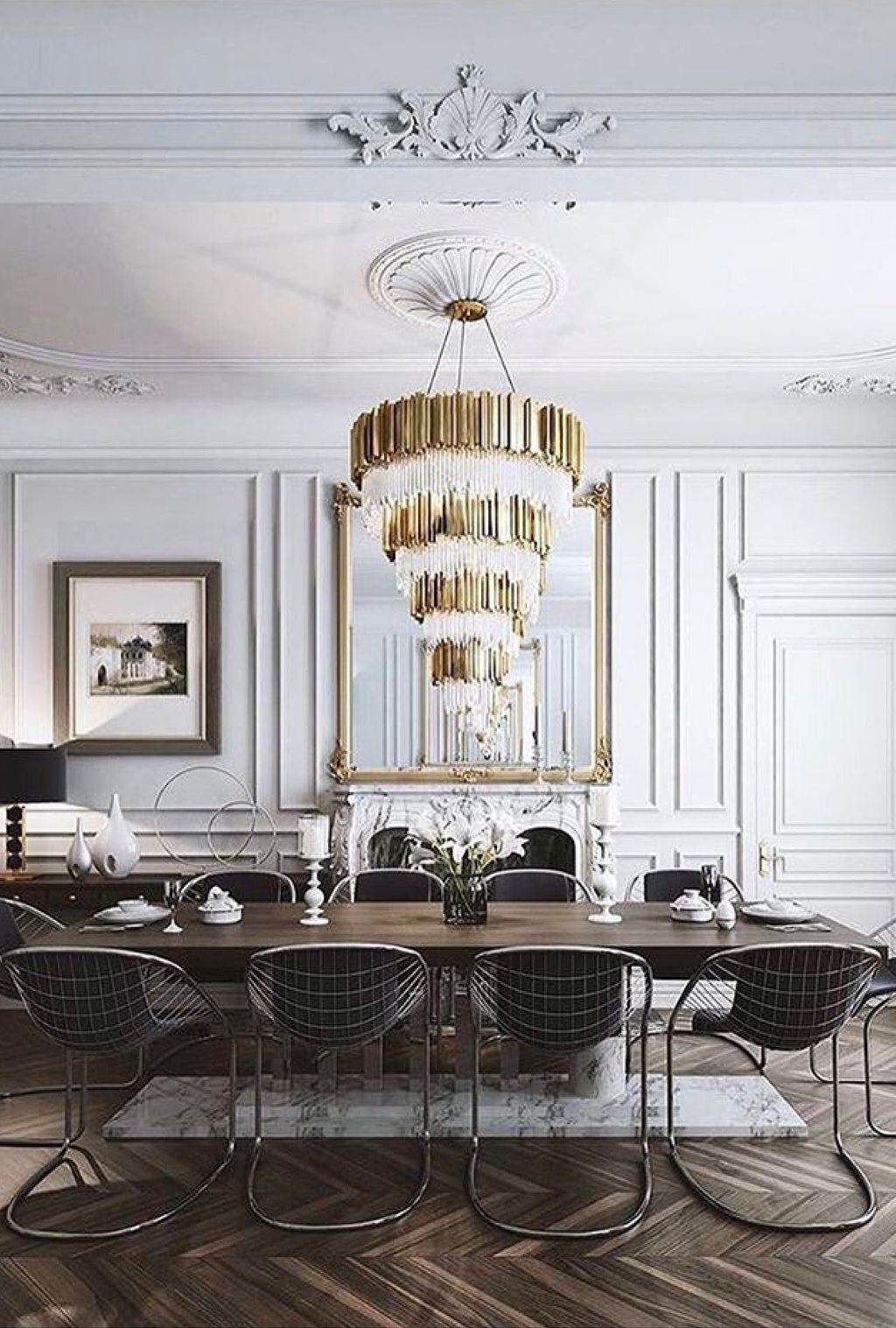 42 Beautiful Classic Dining Room Trends, Dining Room Ideas 2017