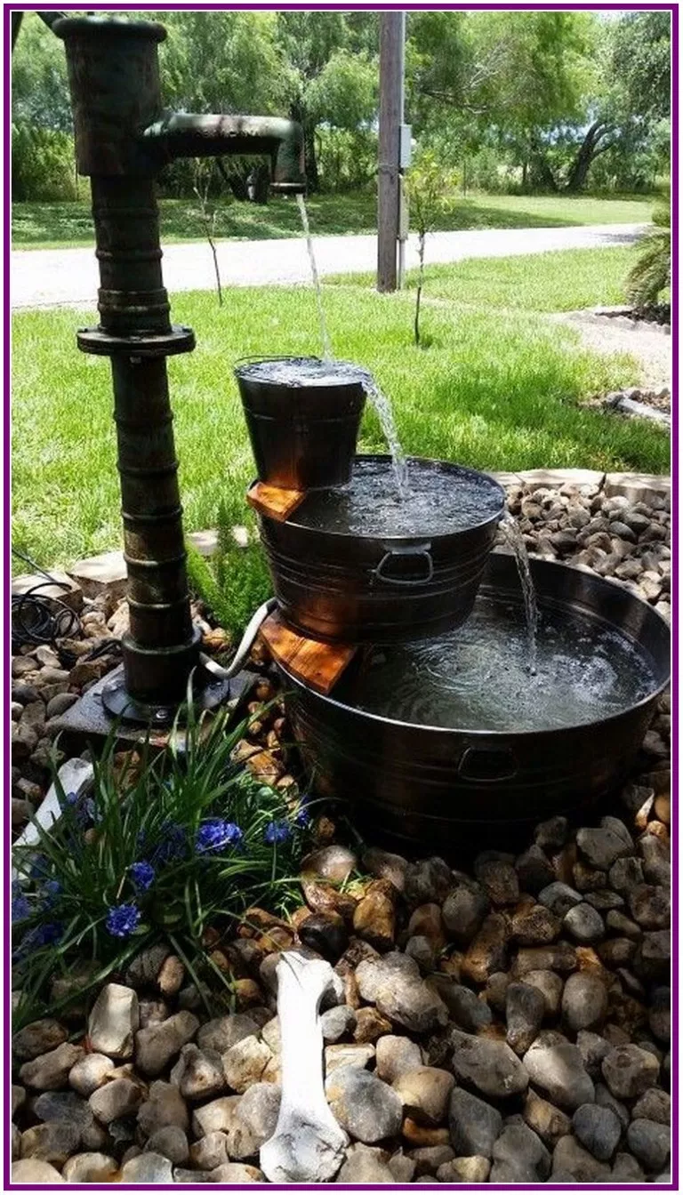30 Top Diy Water Fountain Ideas And Projects ...