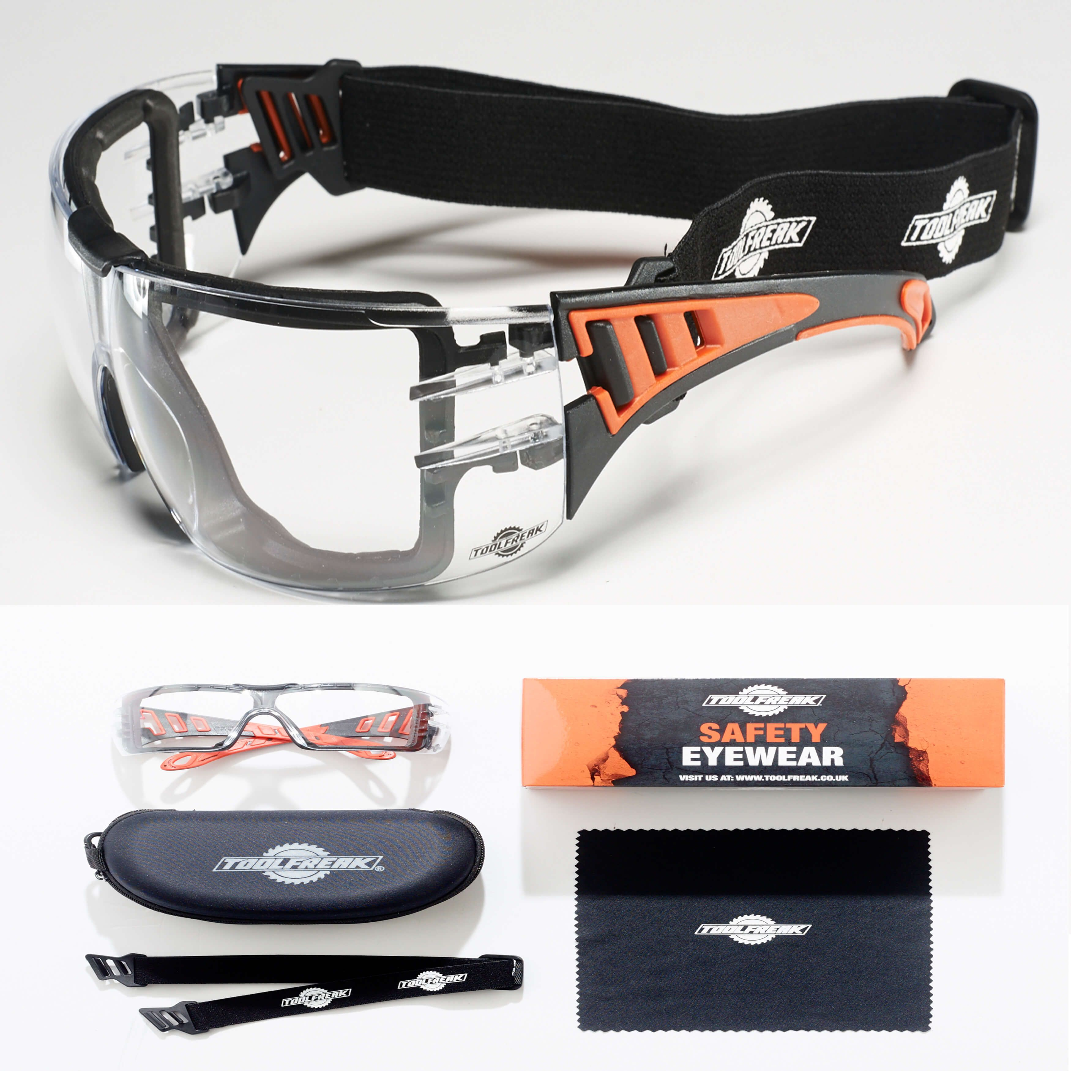 ToolFreak RipOut Safety Glasses Protective eyewear