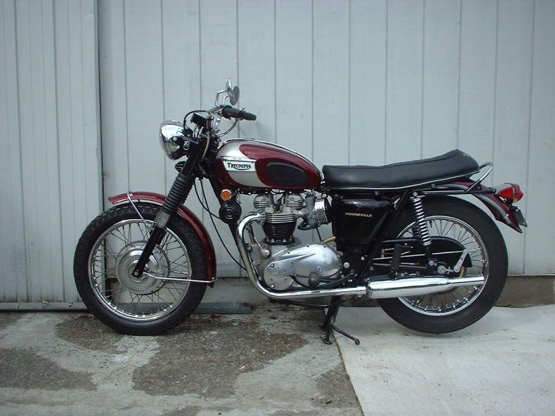1970 Triumph Bonneville 9500 (Kent
