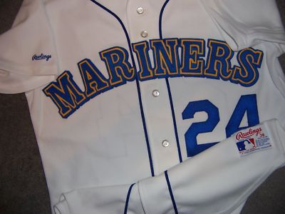 new styles 2e1b0 3ff50 Details about Authentic Majestic, SZ 48 XL, SEATTLE MARINERS ...