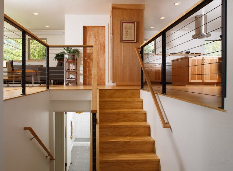 Krikor architecture split level entry remodel h o m e for Split foyer remodel