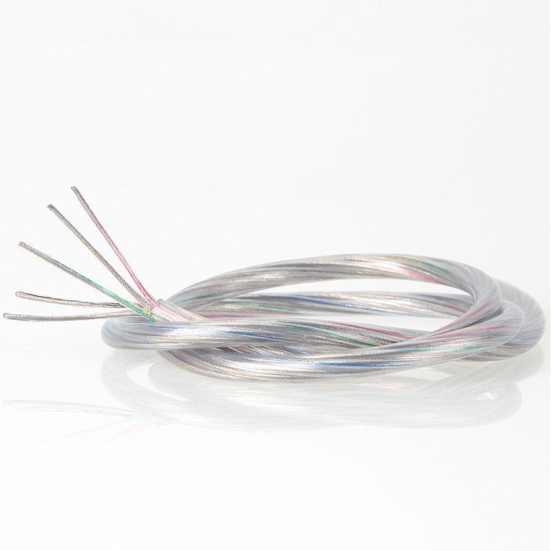 Pvc Lampenkabel Rundkabel Transparent 5 Adrig 5x0 75mm Lampen Kabel Leuchten