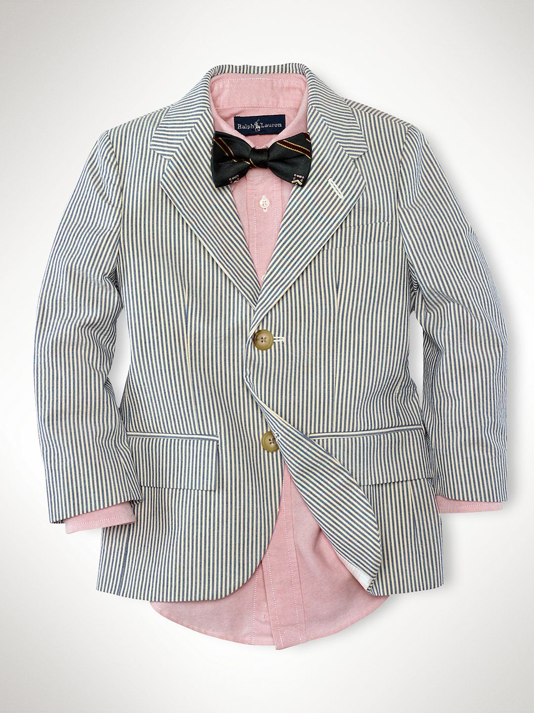 f5c31466 Seersucker Sport Coat - Suits & Sportcoats Boys 2–7 - RalphLauren ...