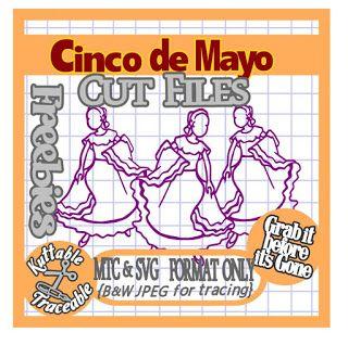 25 Days of Cinco de Mayo Cut File Freebies! Day 16