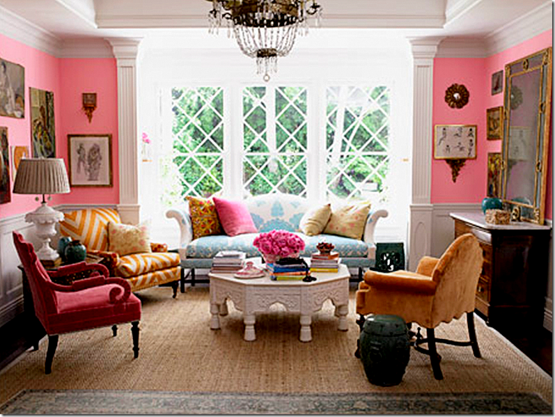 Love The Circular Seating Arrangement In The Living Area Seems So Conducive To Conversation