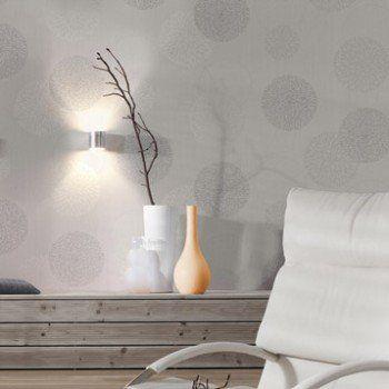 papier peint intissé spot bulles gris | leroy merlin | ஐ sweet