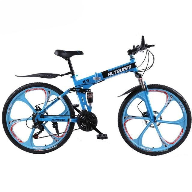 New X9 Altruism Mountain Bikes 26 Inch Steel 21 Speed Bicycles