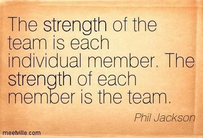 Teamwork Quotes For Sports