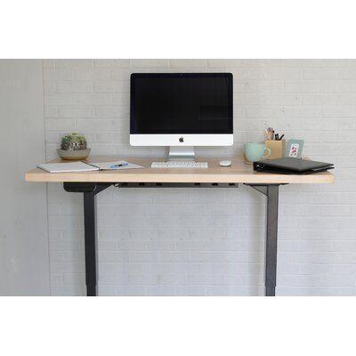 Latitude Run Mascarenaz Height Adjustable Standing Desk Desk