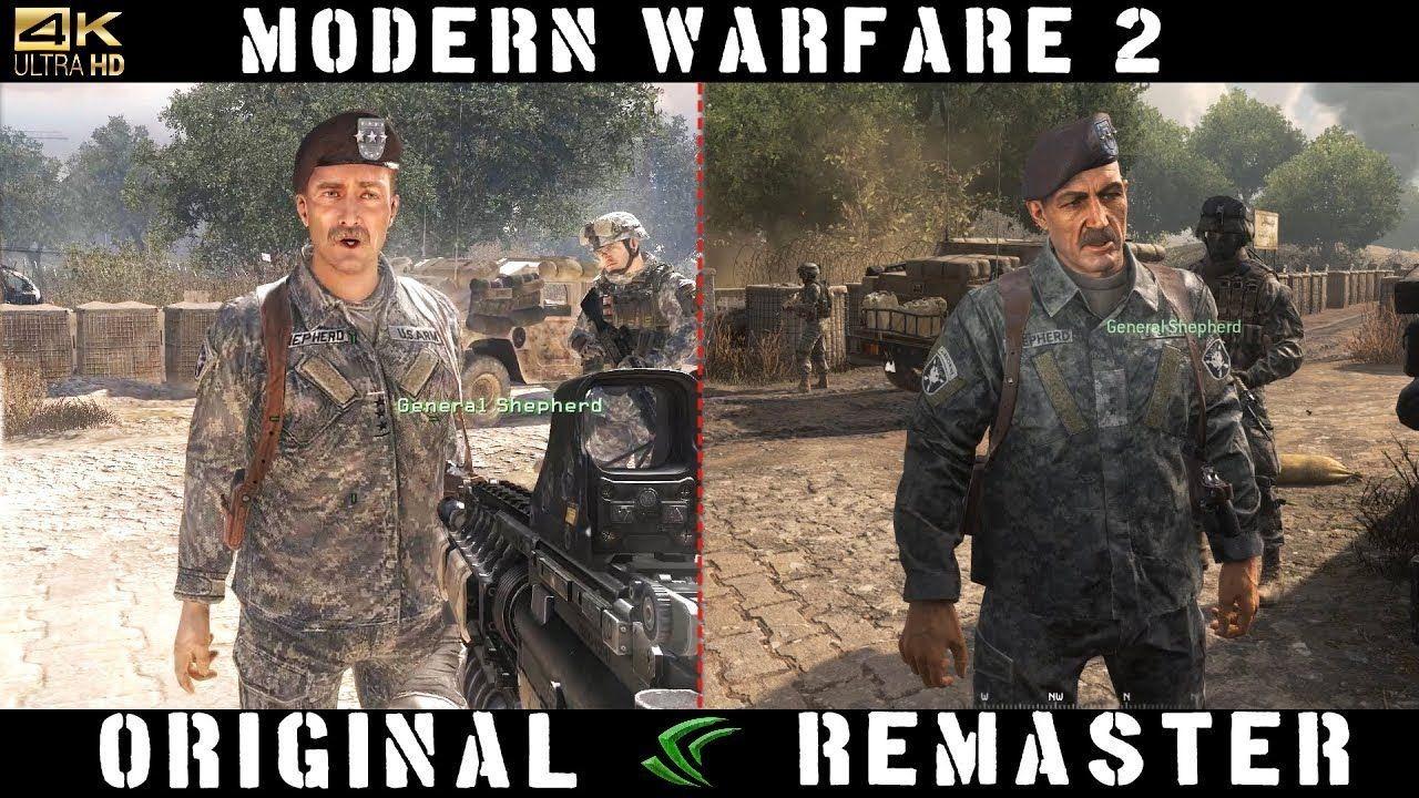 Sound & Graphics Comparison Team Player Mission COD