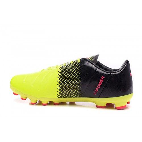 Chaussures Pas Evospeed Jaune De 5 1 Puma Peche Cher Ag Noir Aaxzn1
