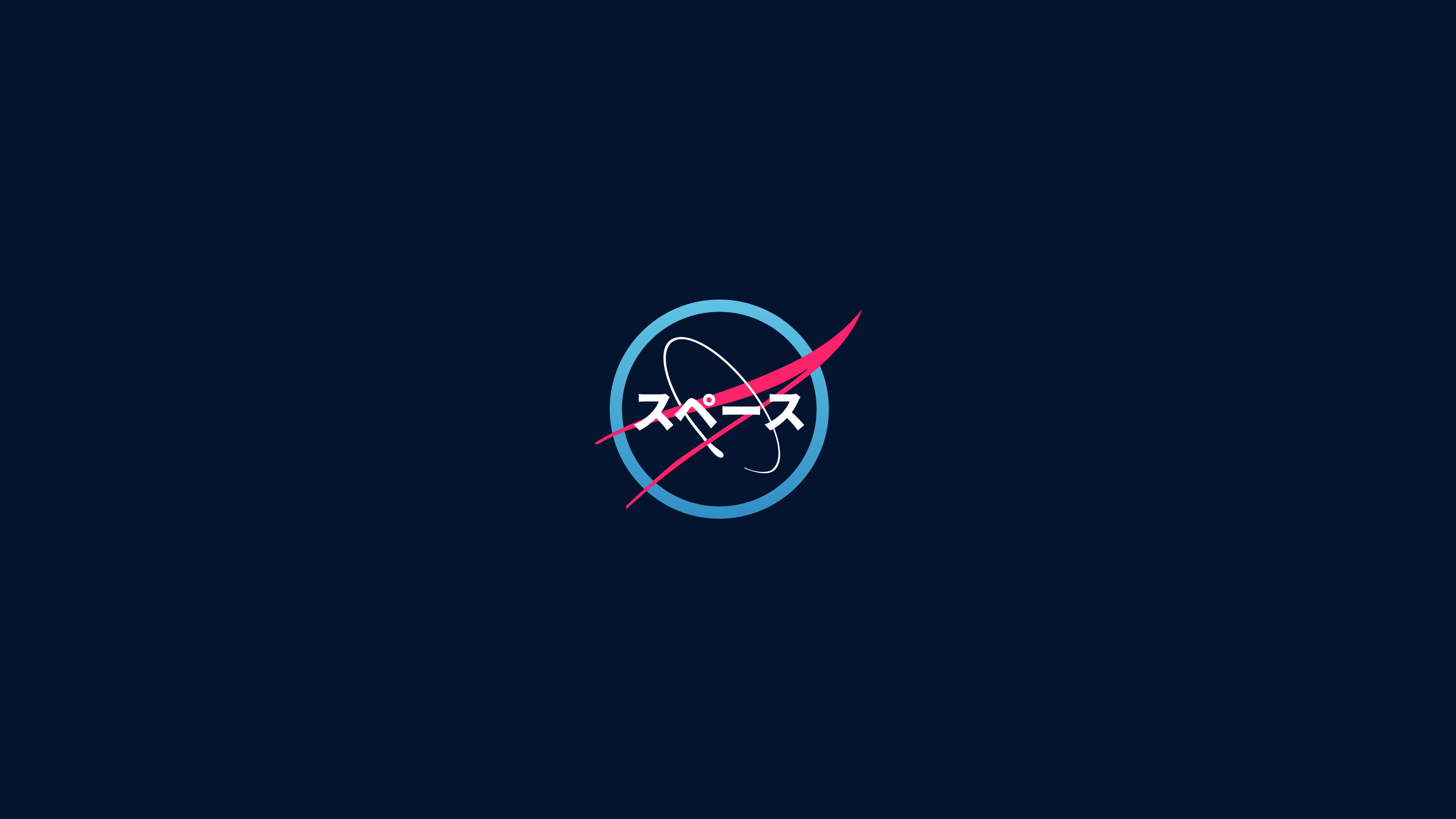 Nasa Japanese Art Logo Minimalism Modern 4k Wallpaper Hdwallpaper Desktop In 2020 Japanese Art Art Hd Wallpaper