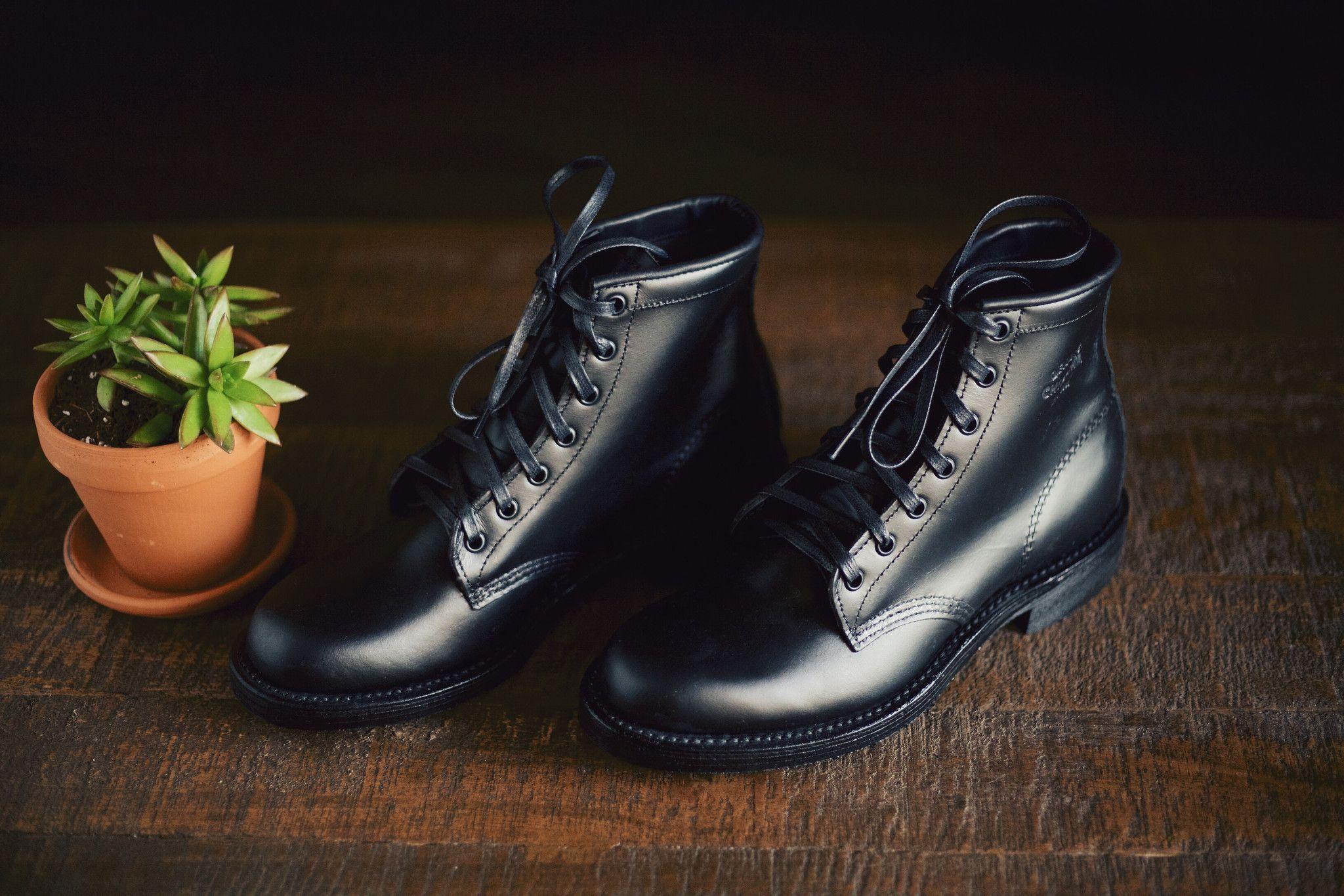 Chippewa aldrich boot trooper black boots chippewa