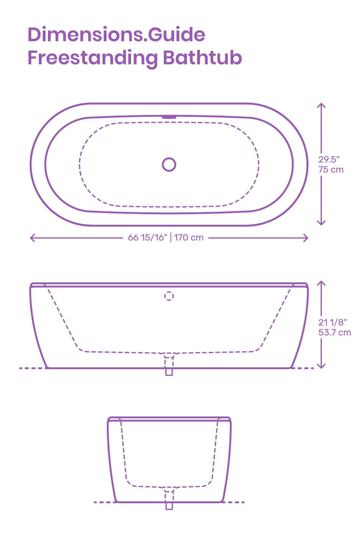 Freestanding Bathtubs Are Fixtures That Stand Independent Of Any