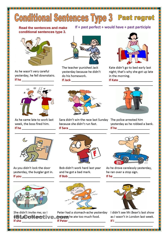 Conditional sentences type 3 | Inglés | Pinterest | Englische ...