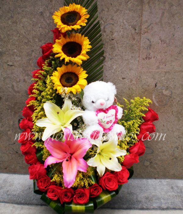 Patchwork Hoa Arreglos Florales Floral Y Arreglo Floral
