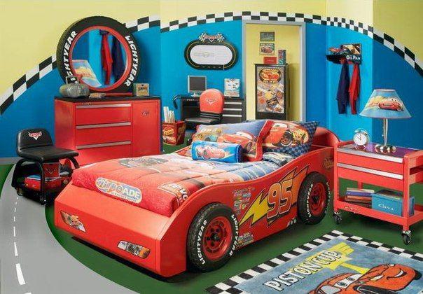 Cars Slaapkamer Decoratie : Cars room kinderkamer kinderkamer slaapkamer en auto slaapkamer