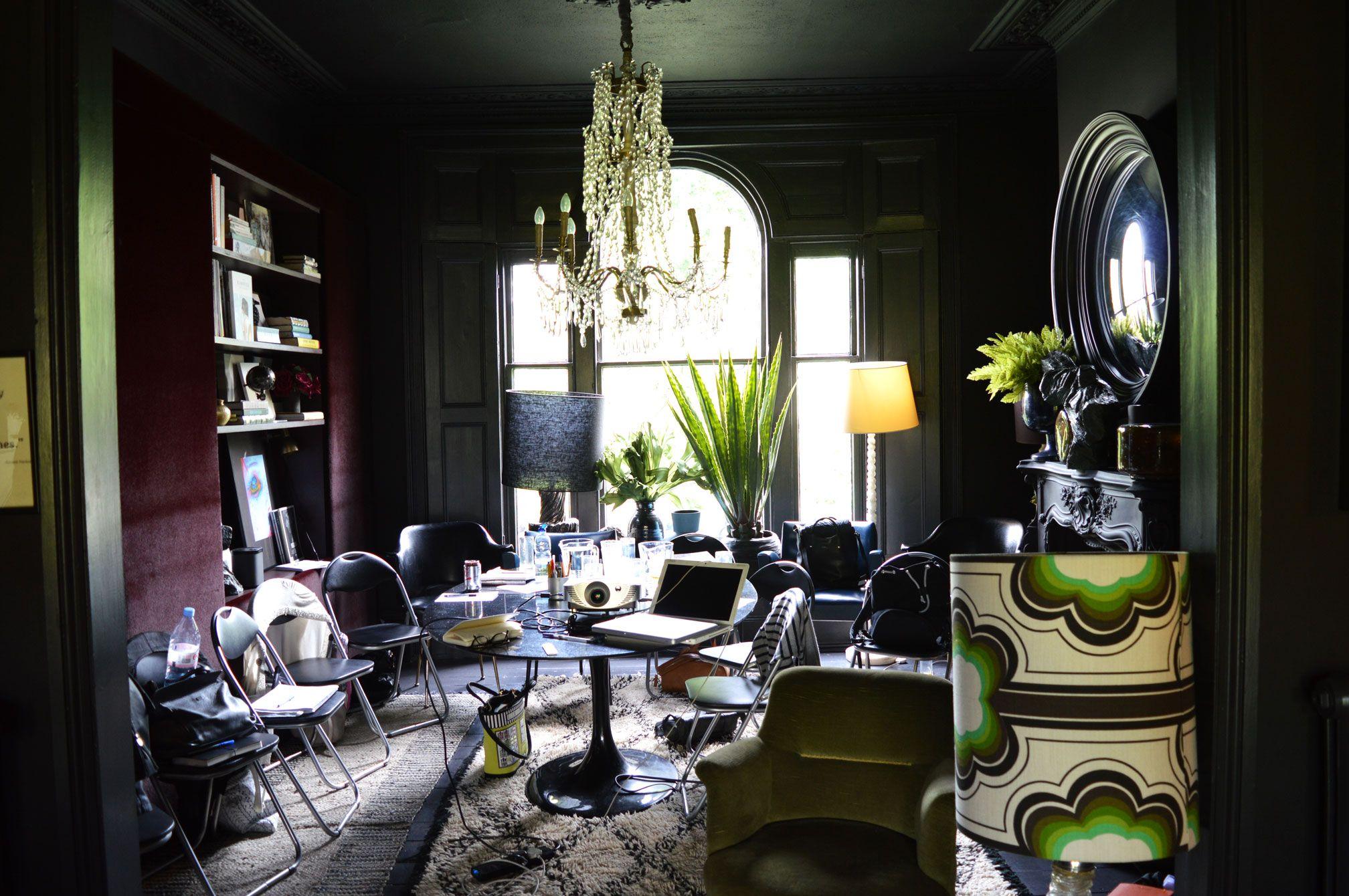Abigail Ahern S Design Masterclass Dark Interiors Interior