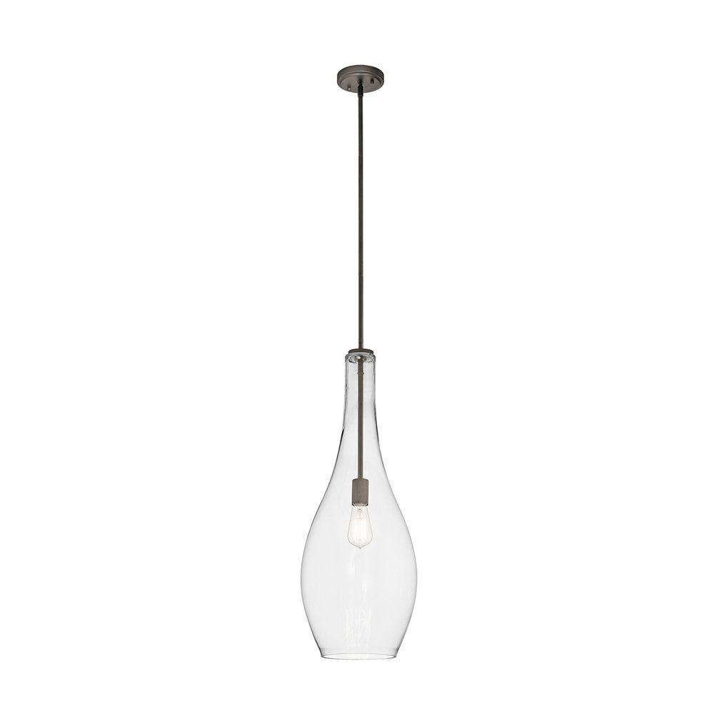 Shop Kichler Lighting 42475 Everly 1 Light Pendant Light at Lowe\'s ...