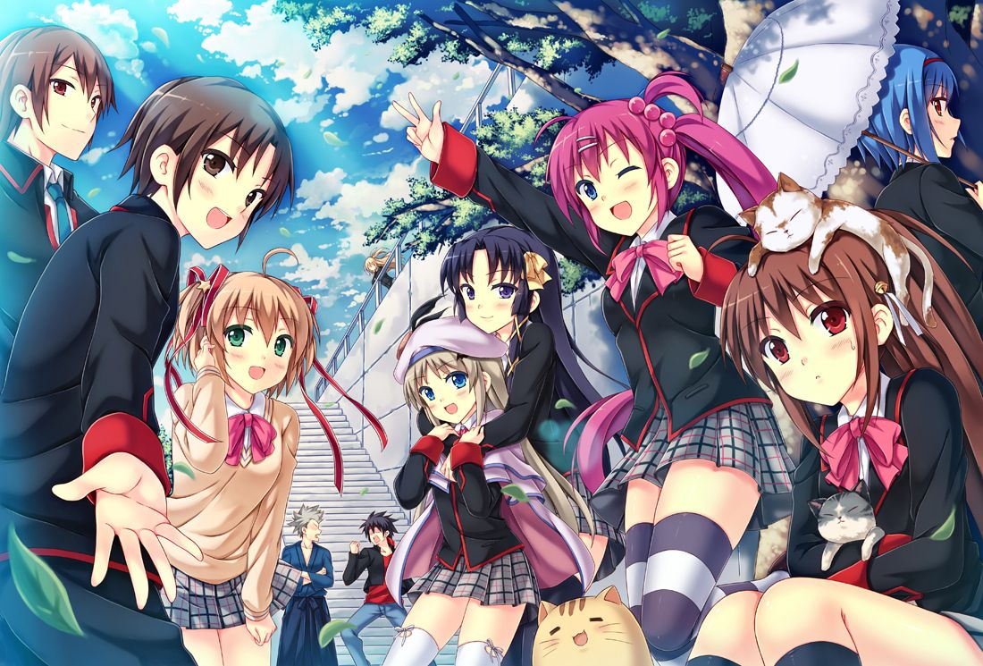 What are best friends ? They are your soulmates choosen in ...  |Anime Group Of Friends Boys And Girls